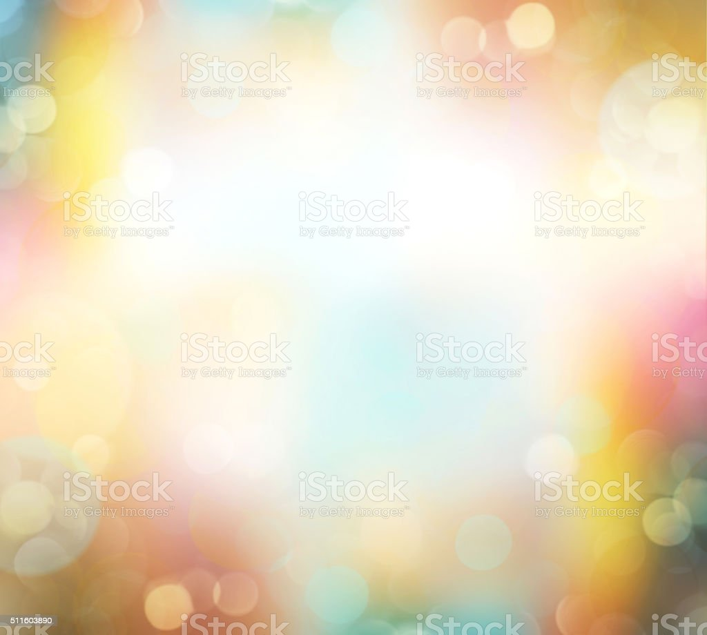 Easter spring blur nature colorful background empty space. stock photo