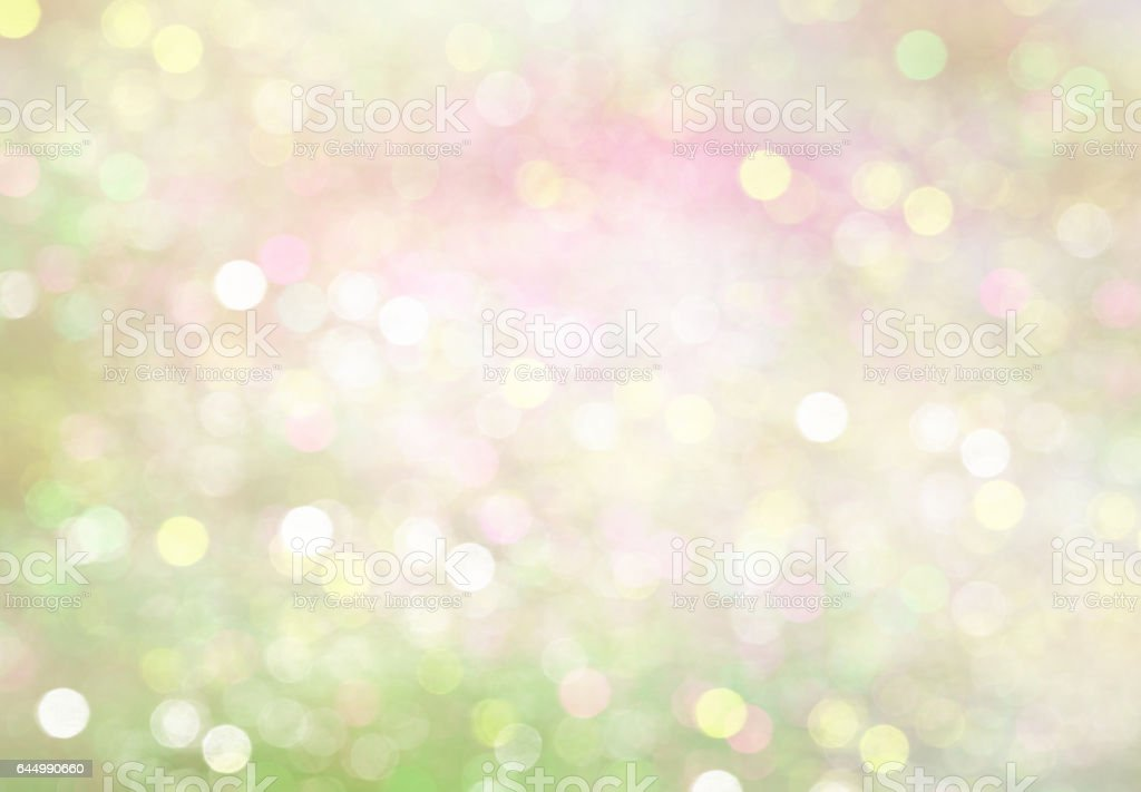 Easter spring soft green natural blur background. stock photo