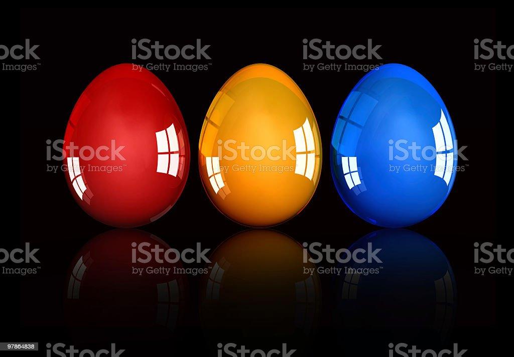 Easter Sunday Eggs-Decoration Ornments-Celebration Gift stock photo