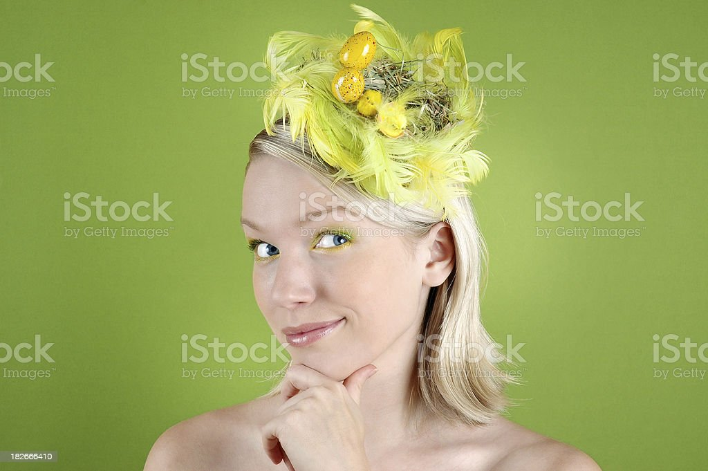Easter surprise royalty-free stock photo