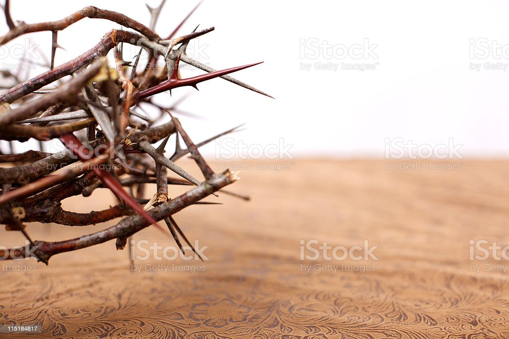 easter thorny crown royalty-free stock photo