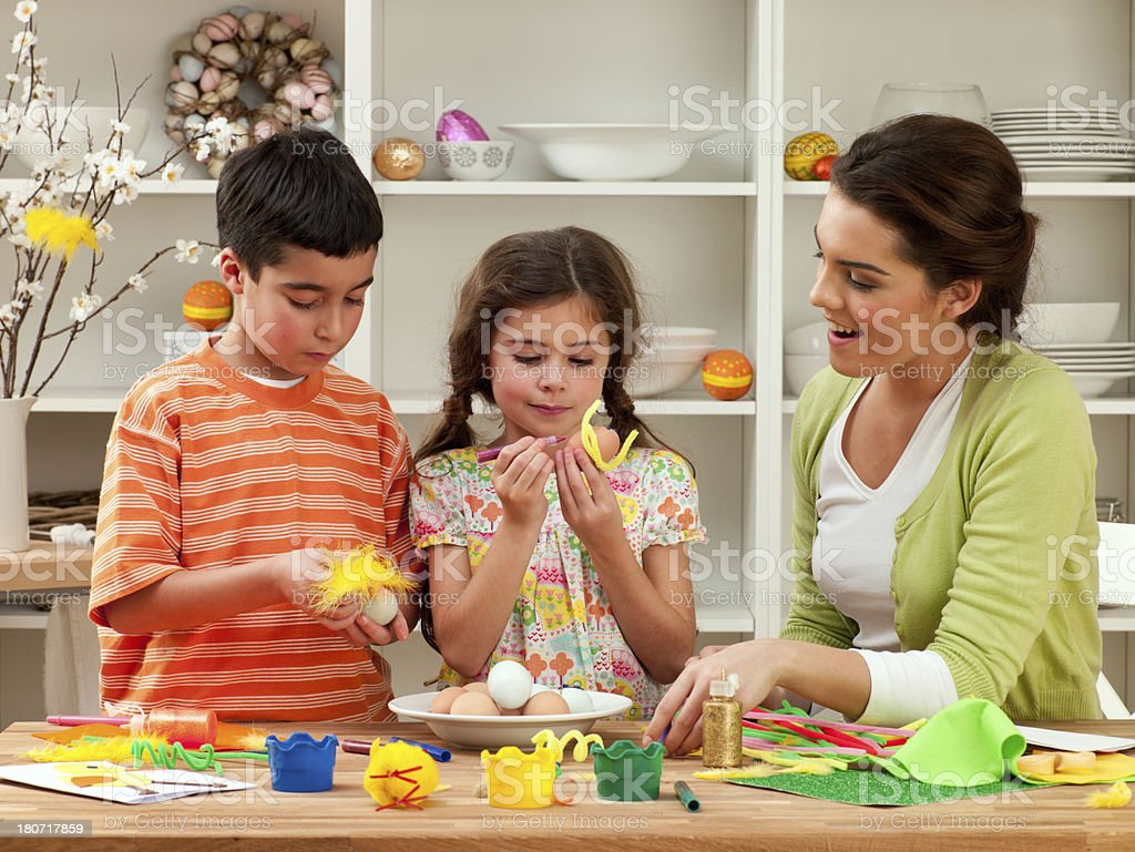 Easter Time Fun royalty-free stock photo