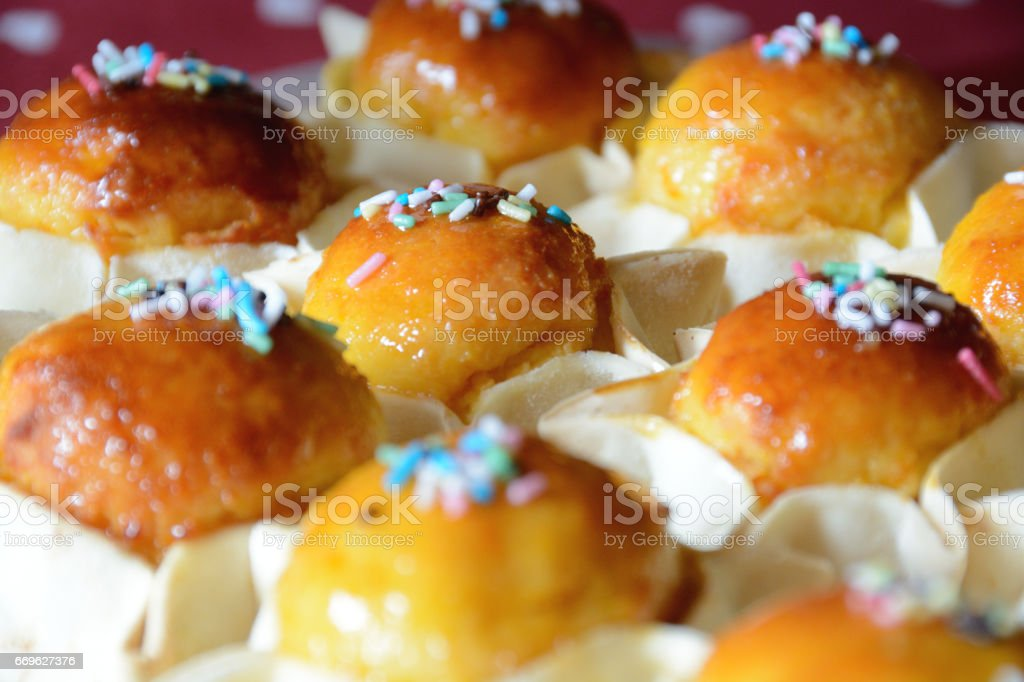 Easter traditional sweets stock photo
