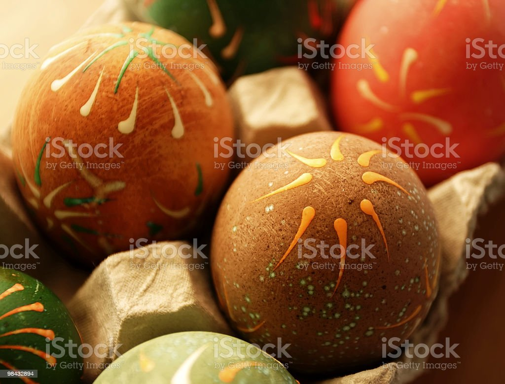 Easter-egg stock photo