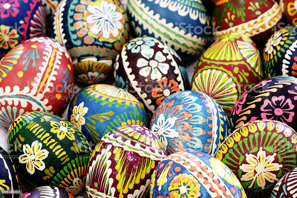 Easter-egg stock photo
