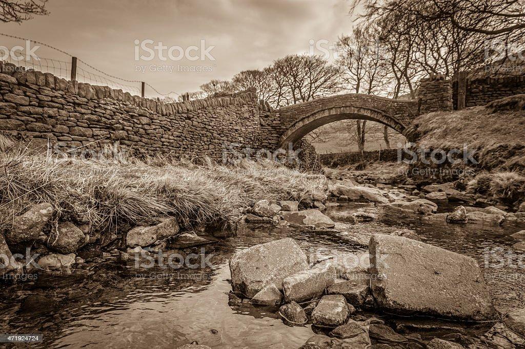 Eastergate Bridge - Marsden, Huddersfield stock photo
