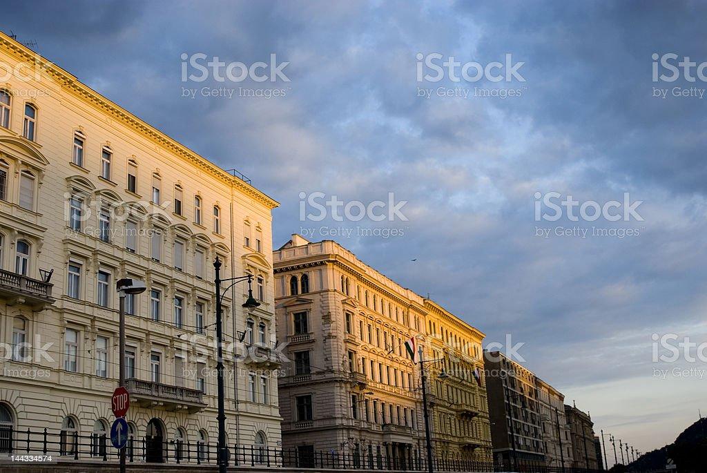 Eastern europe Buildings royalty-free stock photo