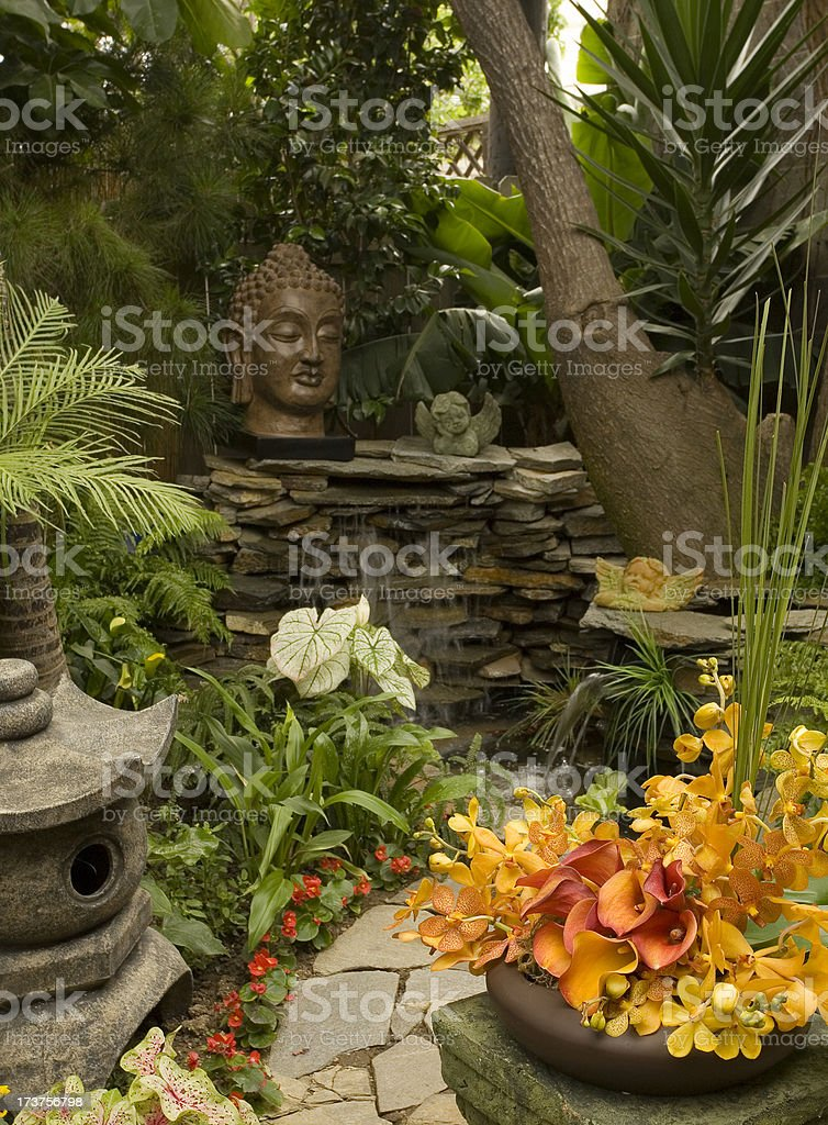 Eastern Garden royalty-free stock photo