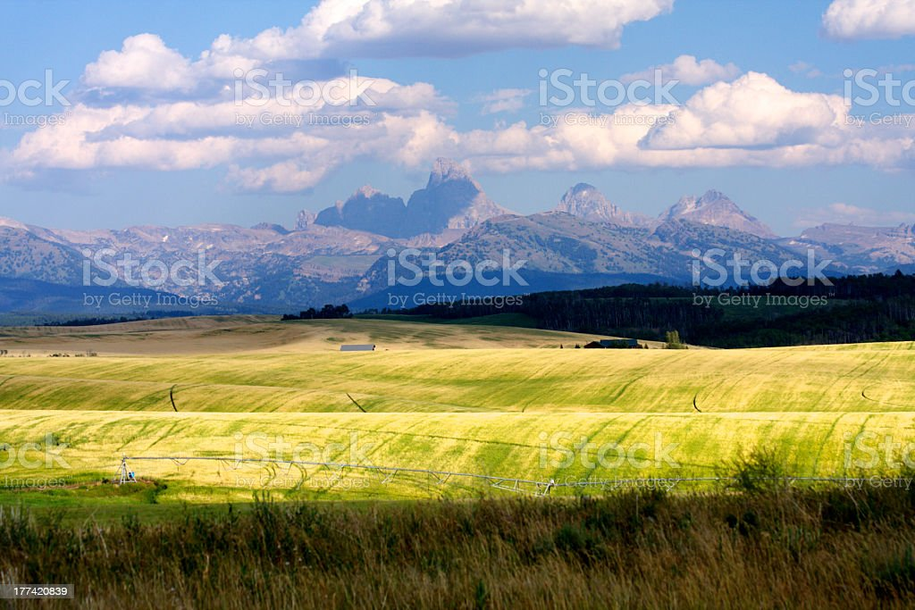 Eastern Idaho stock photo