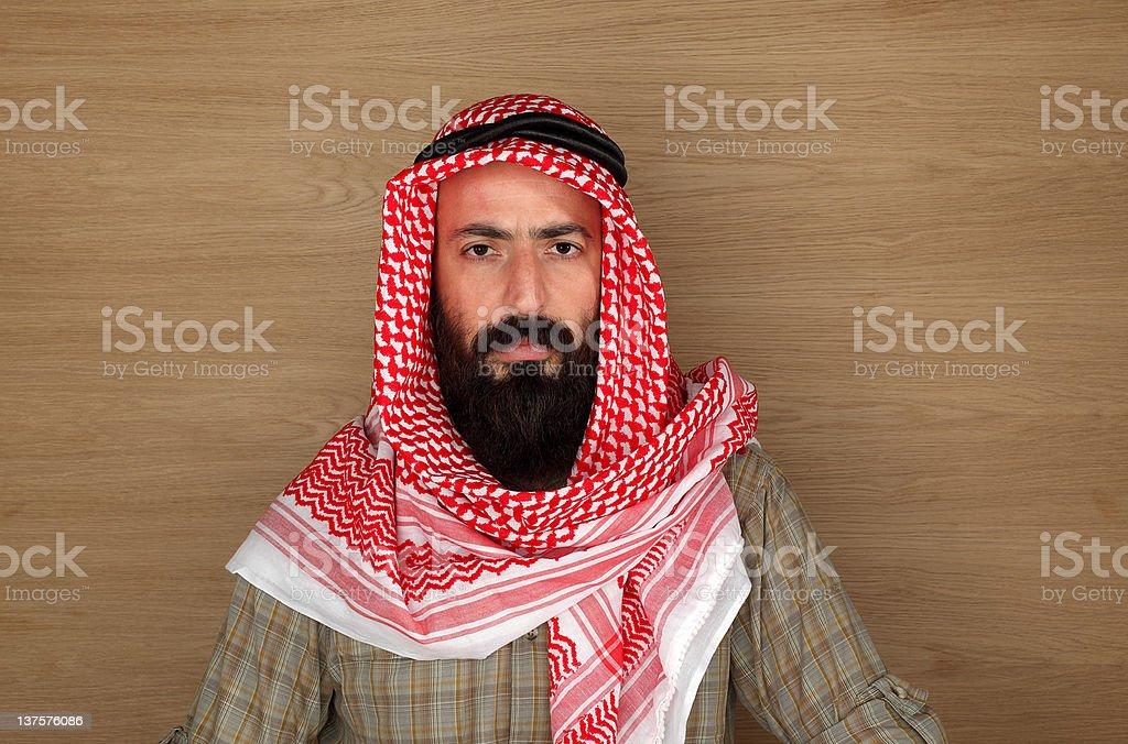 Eastern man portrait royalty-free stock photo