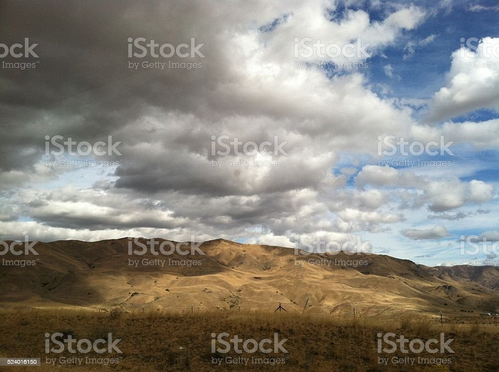Eastern Oregon, near Pendleton stock photo