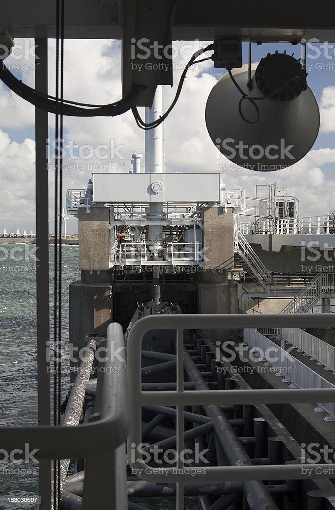 Eastern Scheldt Barrier stock photo