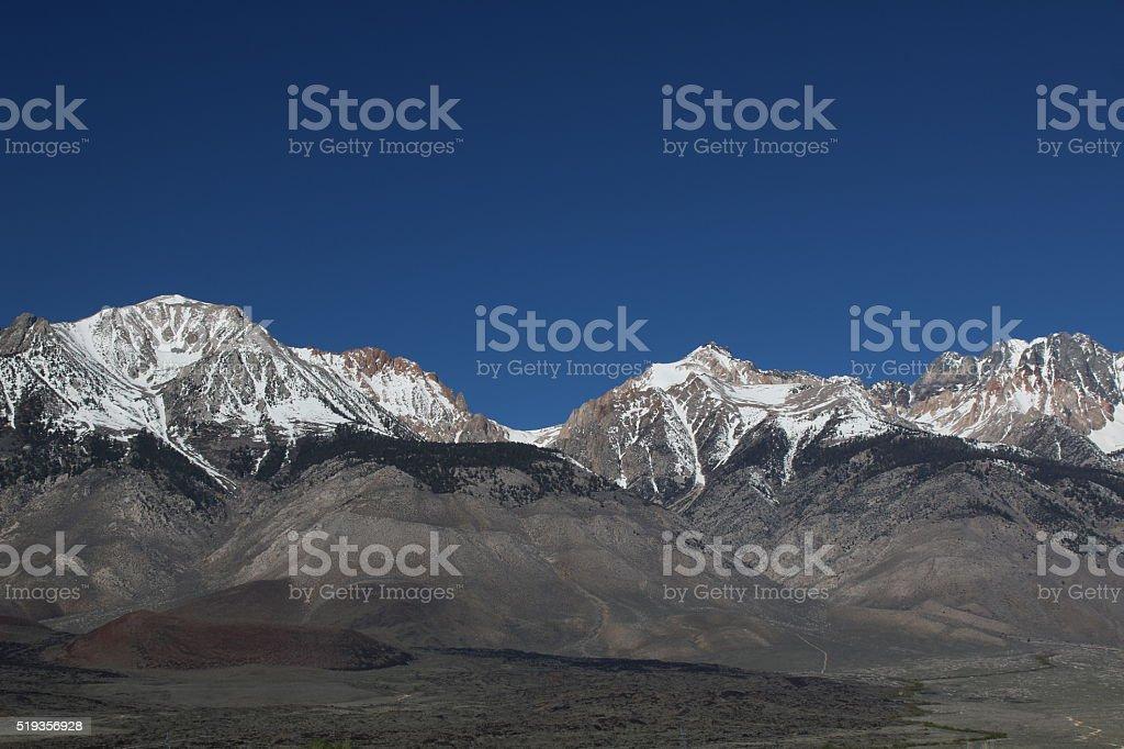 Eastern Sierra 4 stock photo