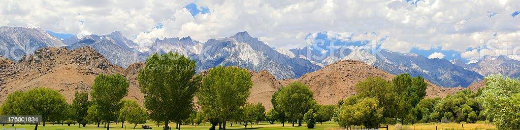 Eastern Sierra royalty-free stock photo