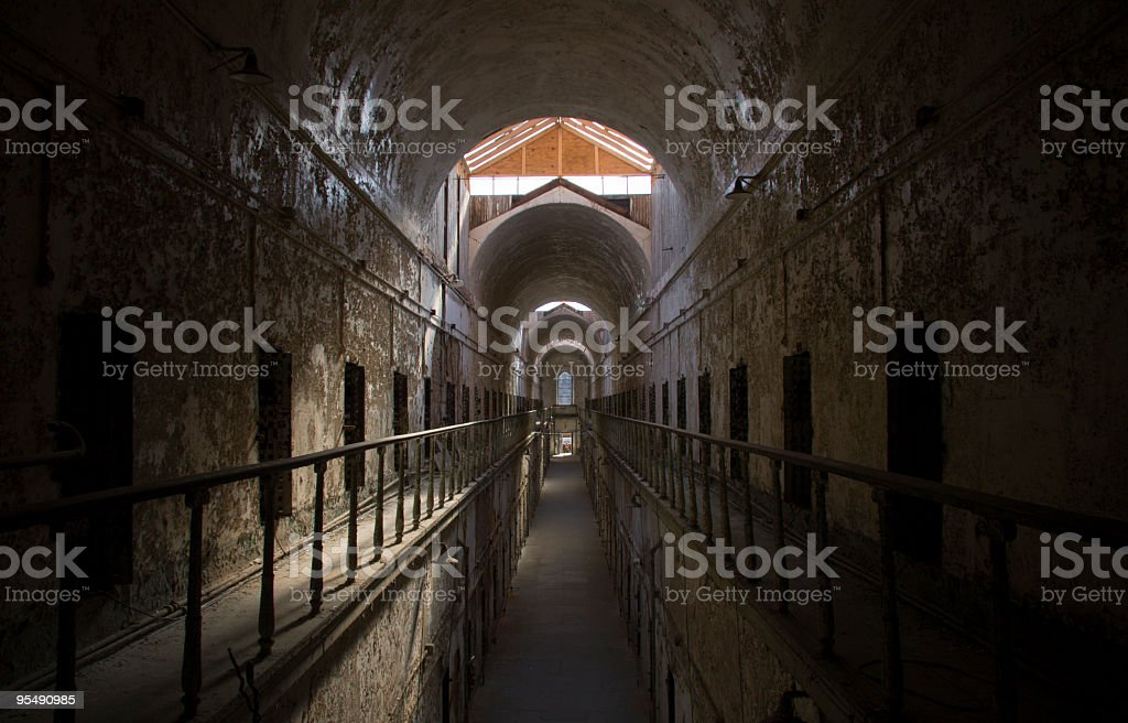 Eastern State Penitentiary I stock photo