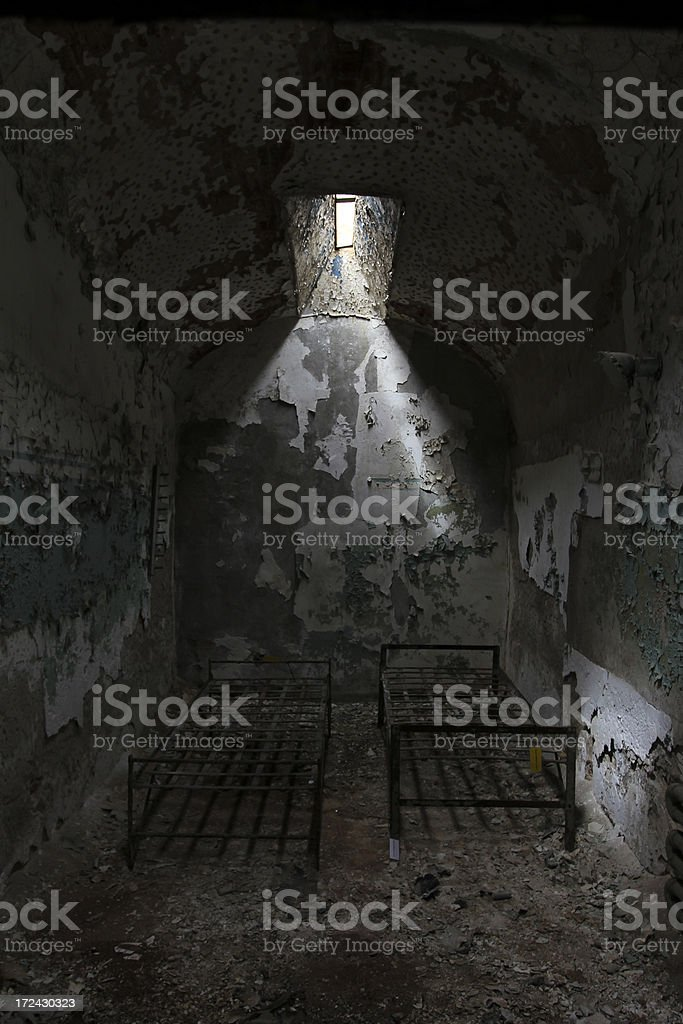 Eastern State Penitentiary royalty-free stock photo