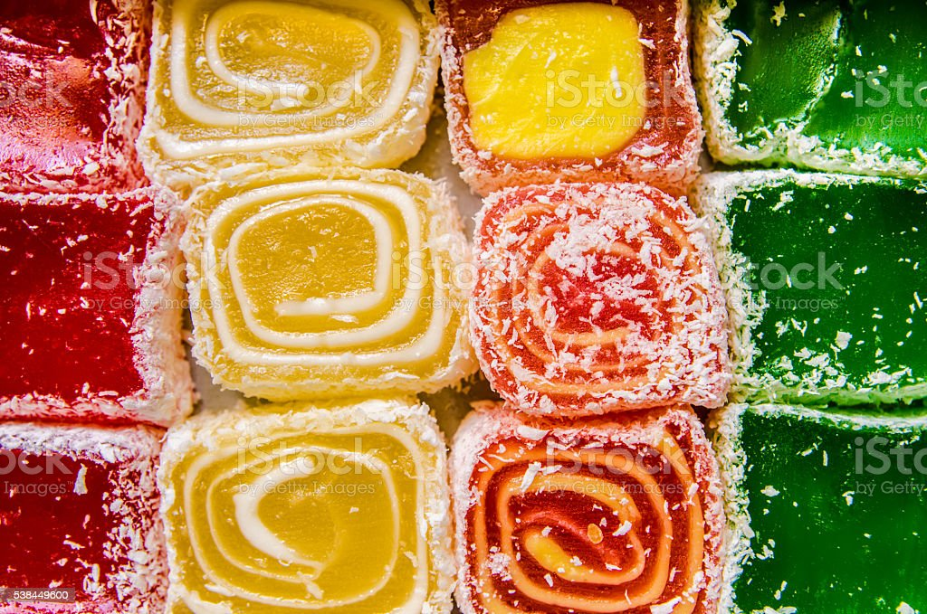 eastern sweets stock photo