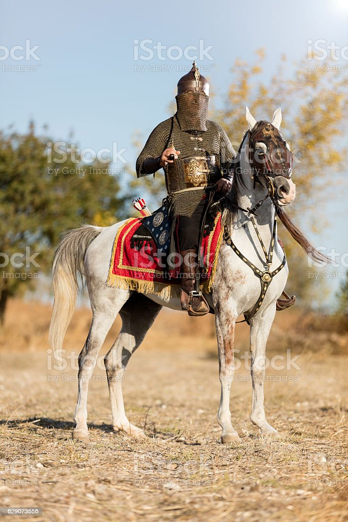 Eastern Warrior stock photo