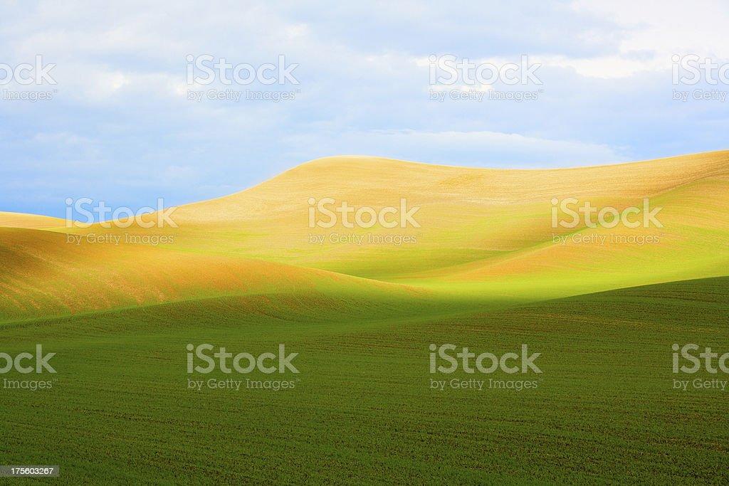 Eastern Washington Landscape stock photo