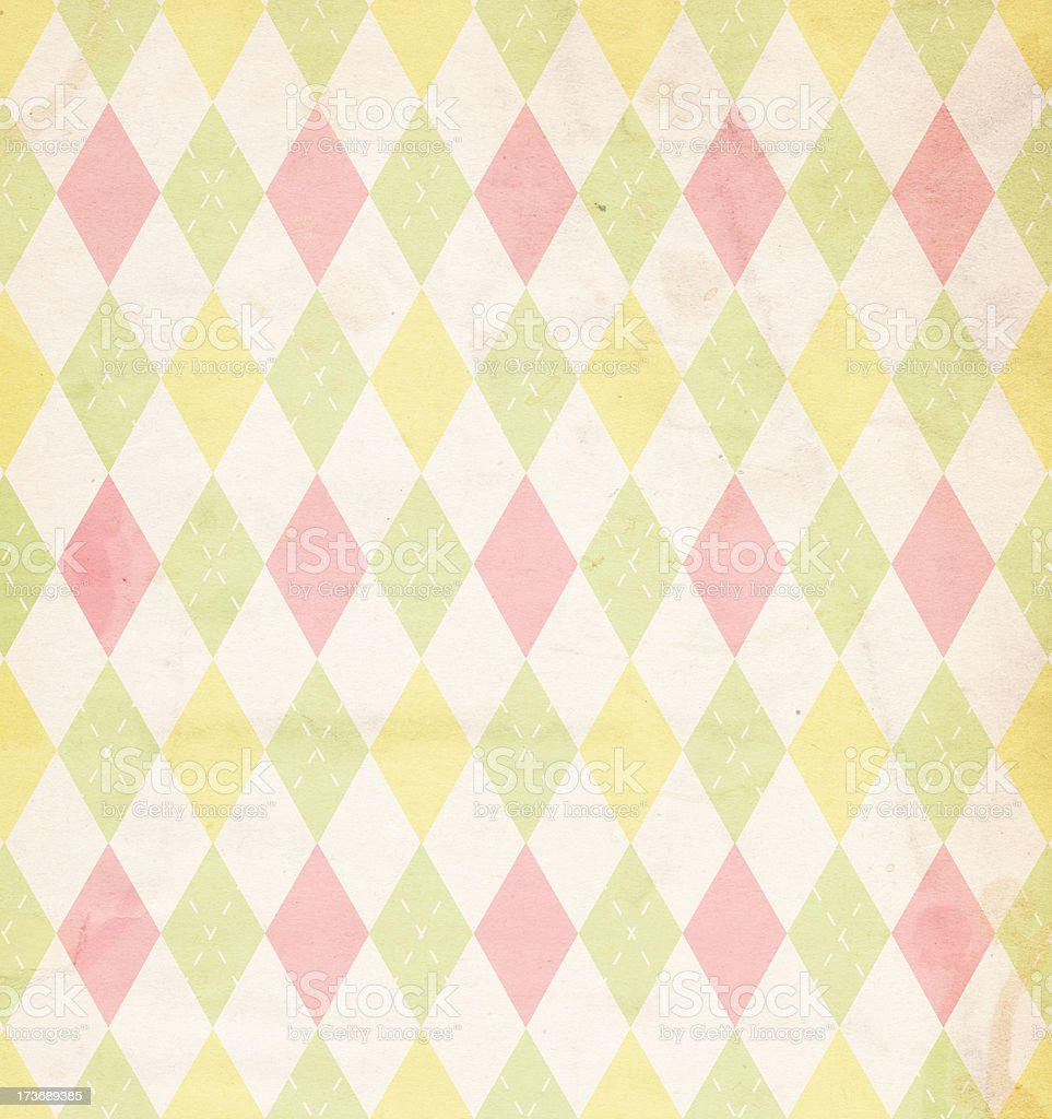 Easter/Spring Diamond Paper XXXL royalty-free stock photo