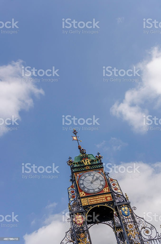 Eastgate Clock - Chester stock photo