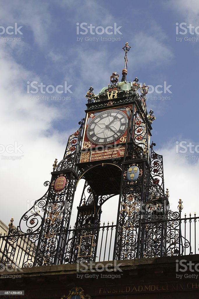 Eastgate Clock Chester royalty-free stock photo