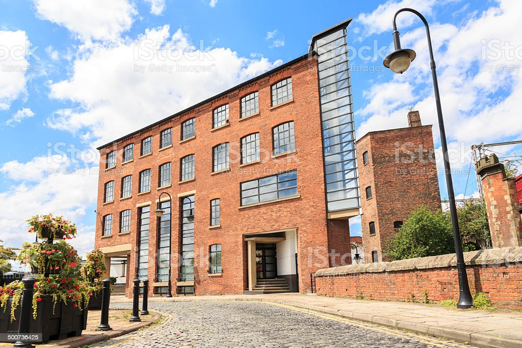 Eastgate office building in Castlefield, Manchester. royalty-free stock photo