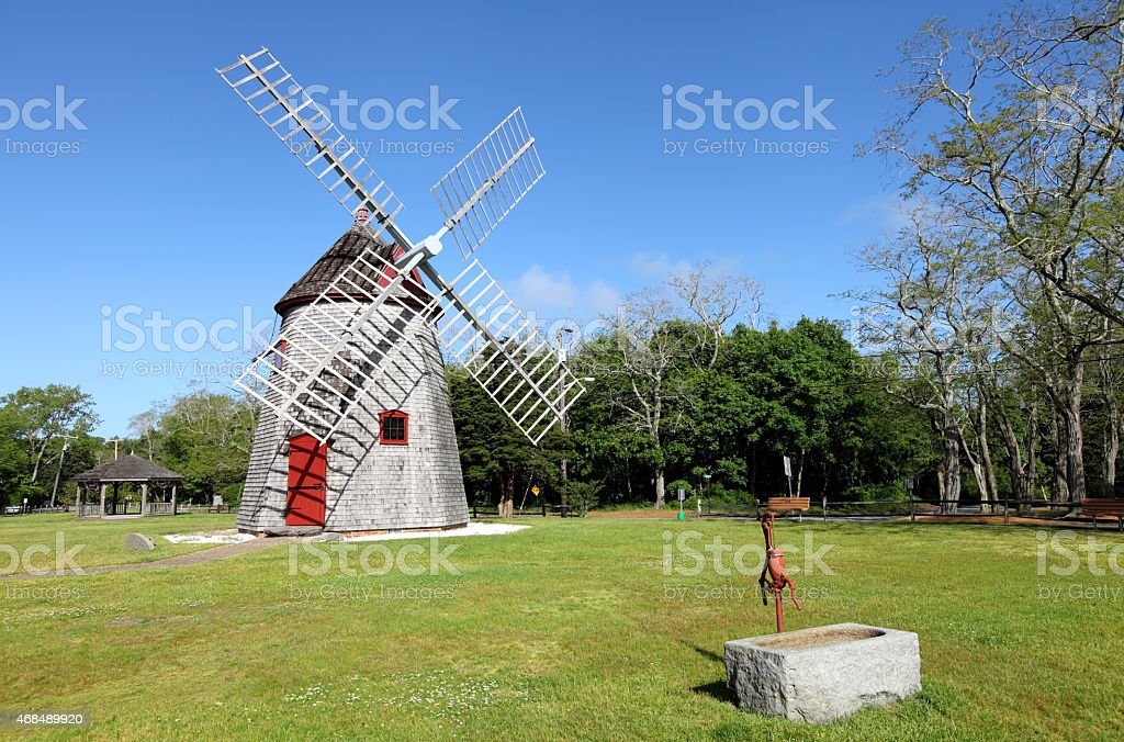 Windmill Cape Cod Part - 49: Eastham Windmill Cape Cod Royalty-free Stock Photo