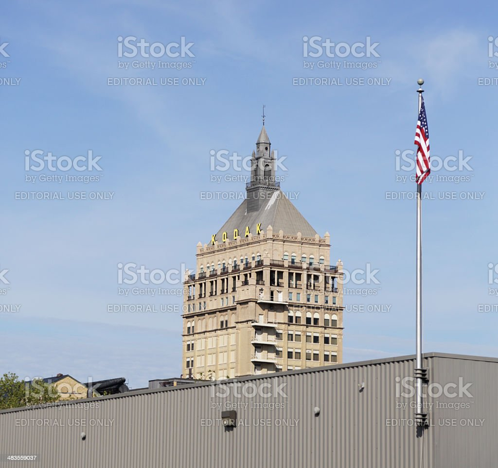 Eastman Kodak Headquarters Building stock photo