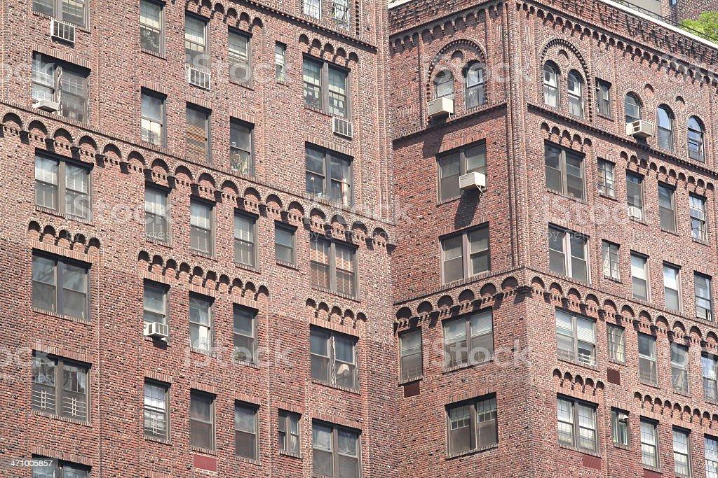 Eastside Manhattan Apartment Complex stock photo