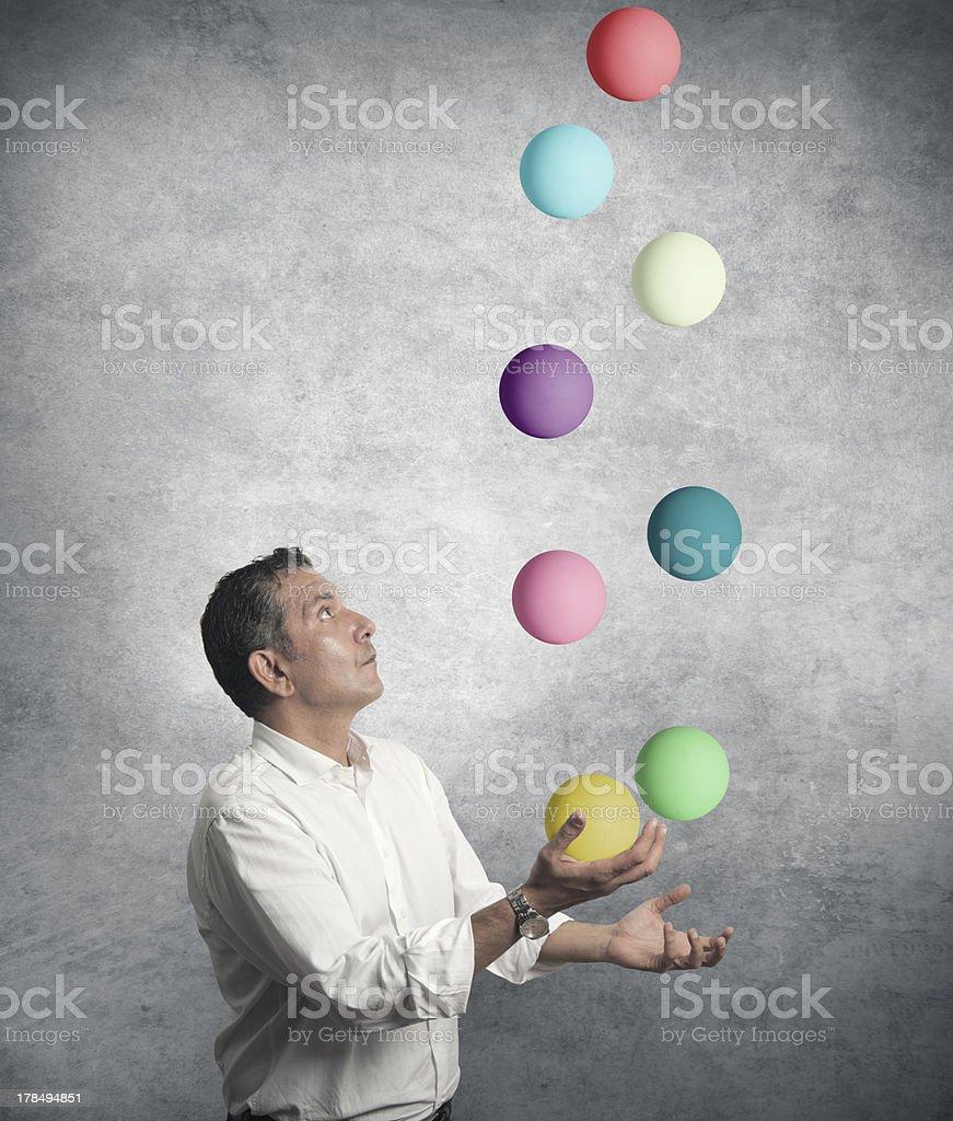 Easy business stock photo