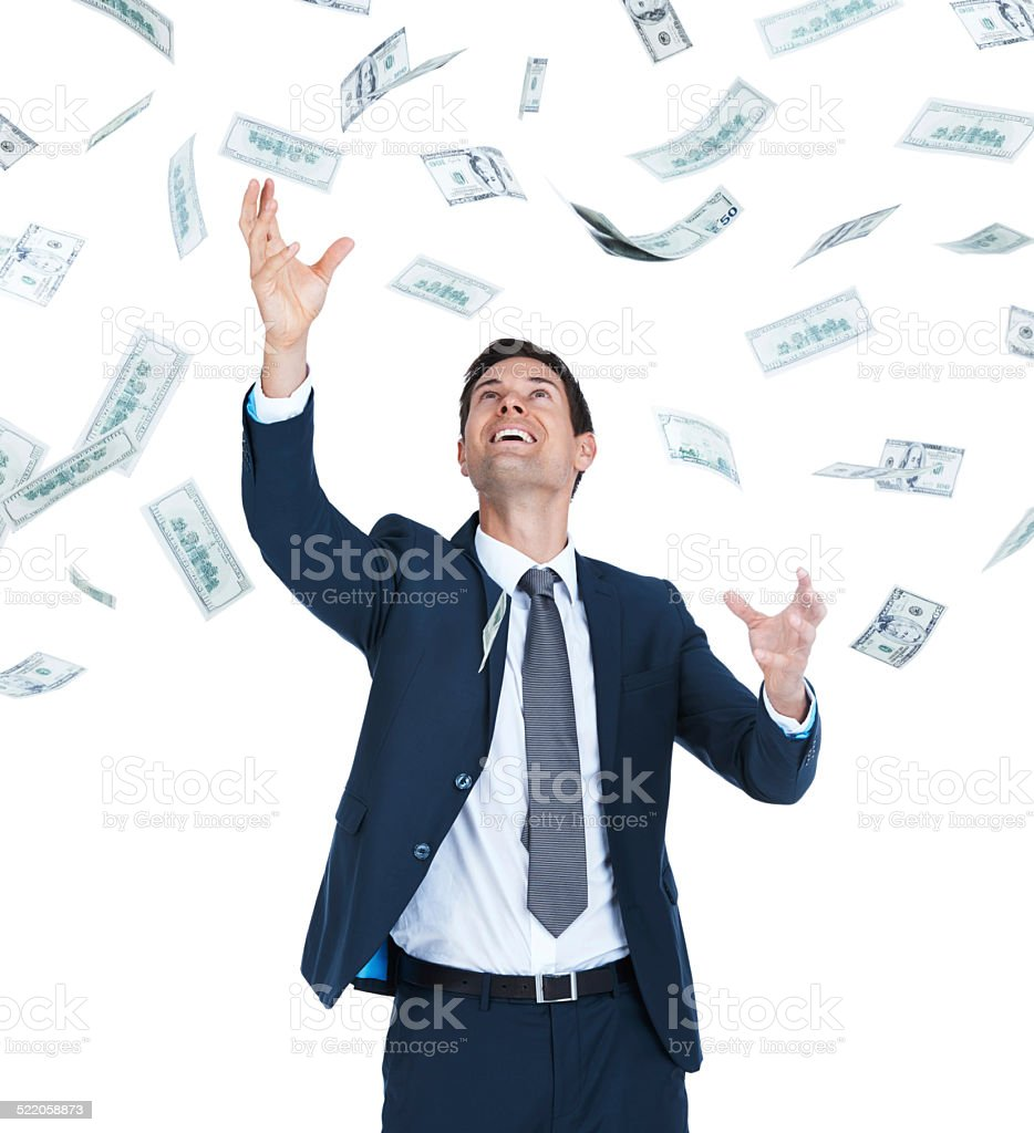 Easy money! stock photo