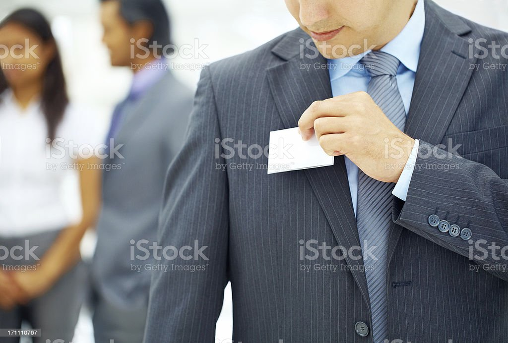 Easy networking - Seminars & Conventions stock photo