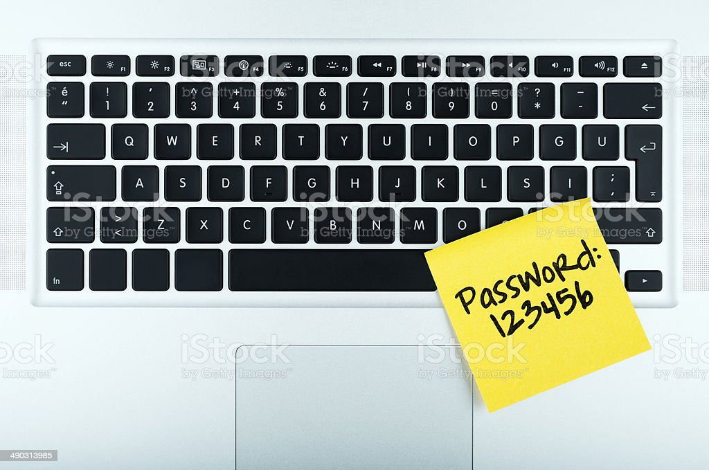 easy password stock photo