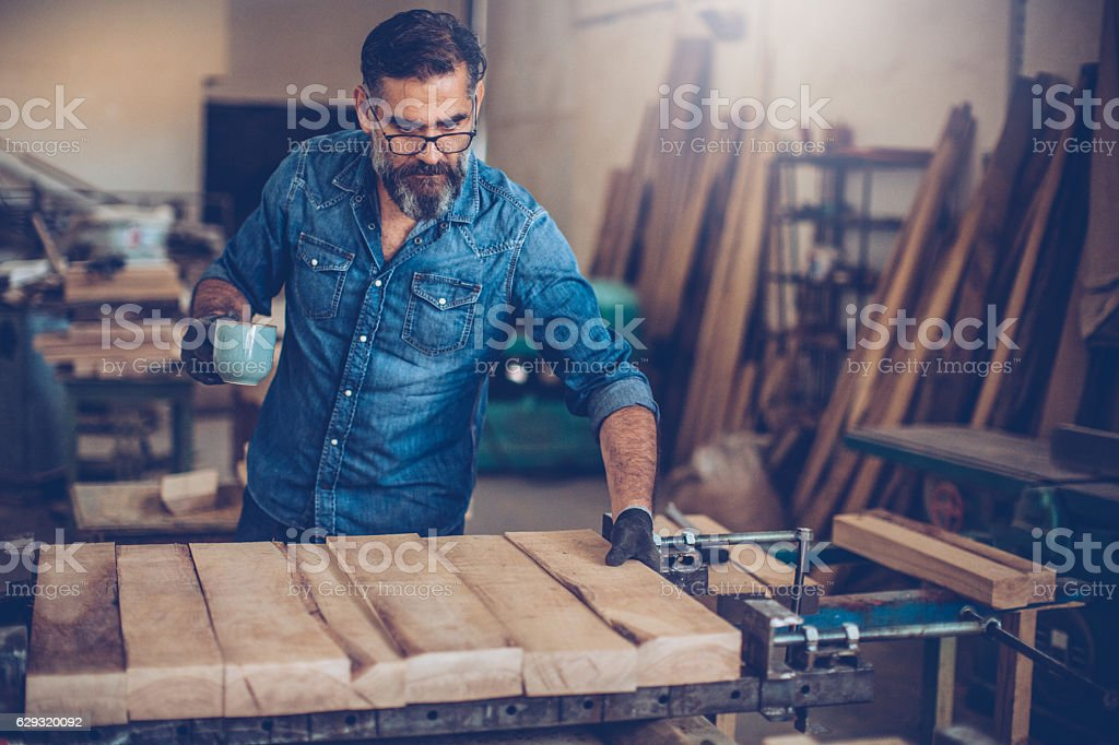 Easy start of the day stock photo