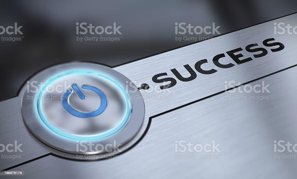 Easy Success and Aiming royalty-free stock photo