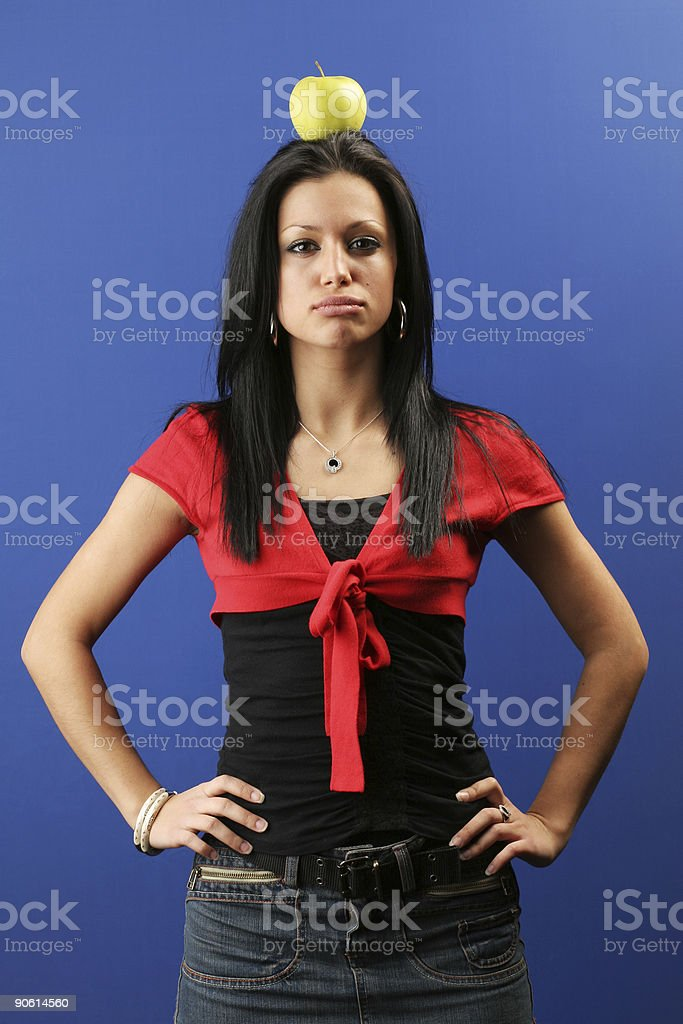 Easy target royalty-free stock photo