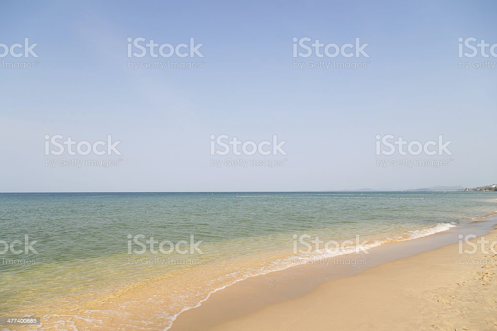easy wave on the ocean royalty-free stock photo