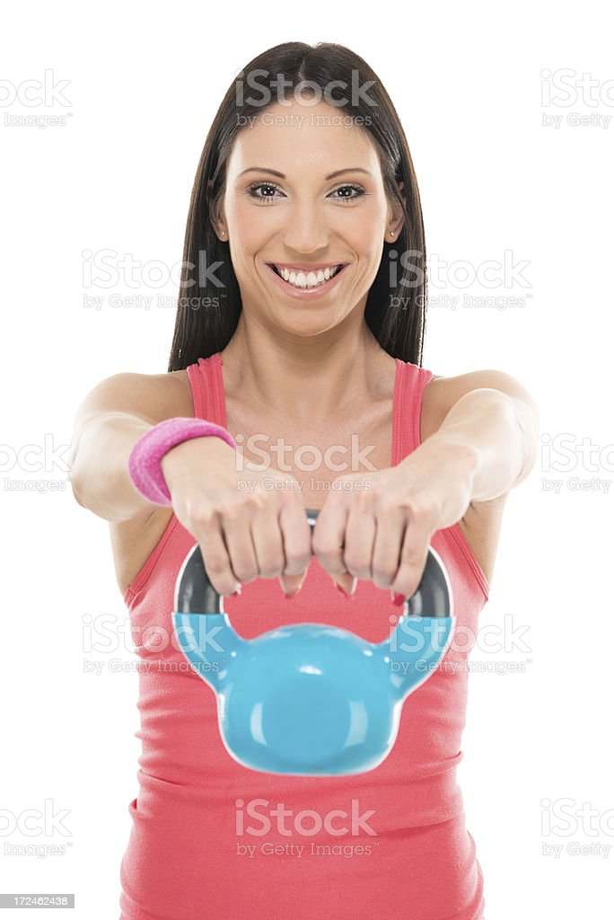 Easy workout royalty-free stock photo