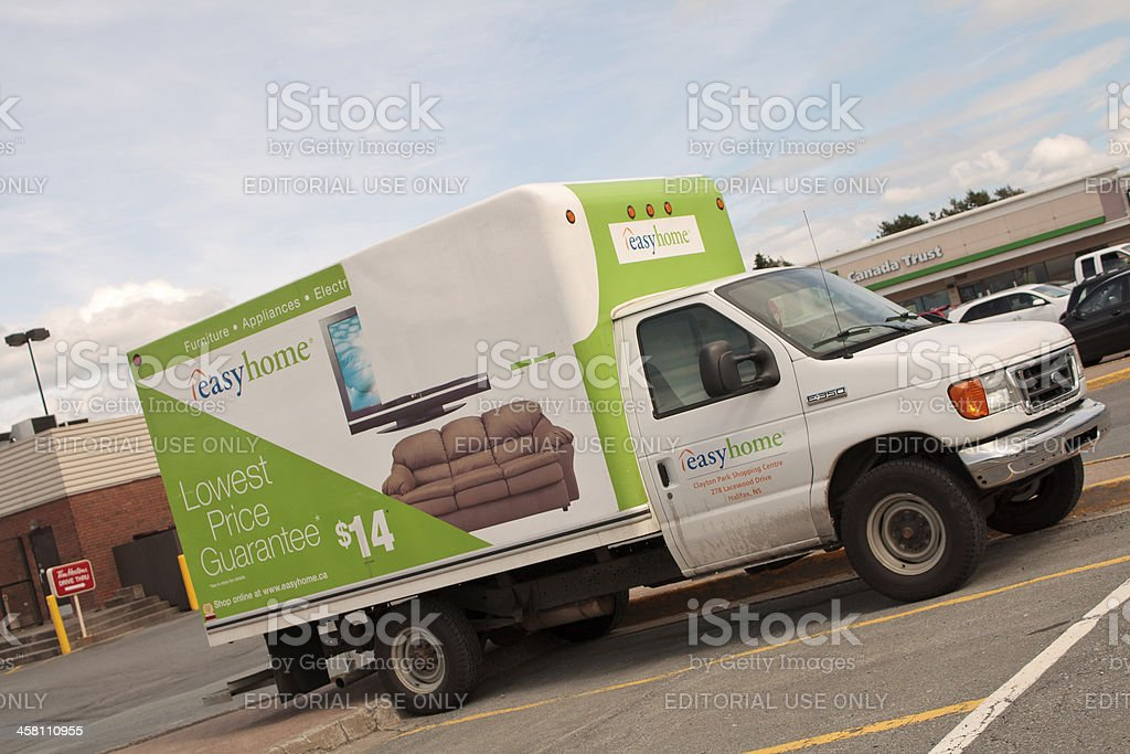 Easyhome Ford Cube Van Delivery Vehicle stock photo