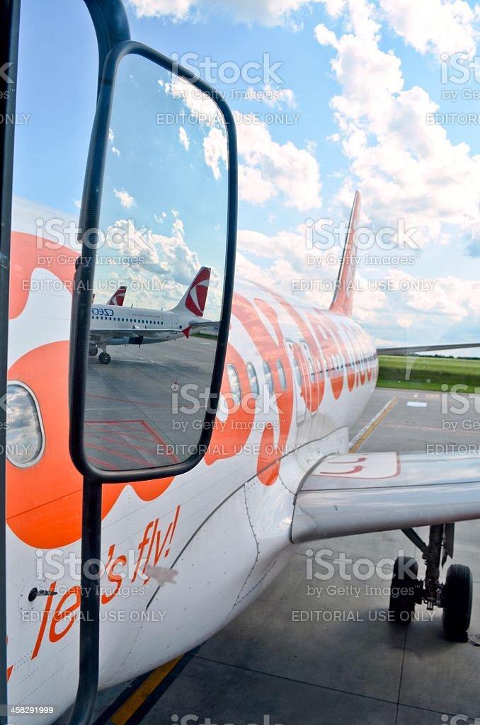 Easyjet royalty-free stock photo
