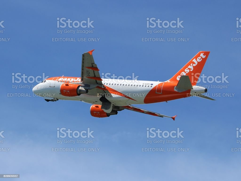 EasyJet stock photo