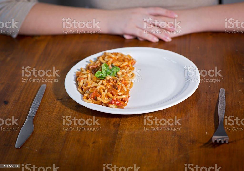 eat half stock photo