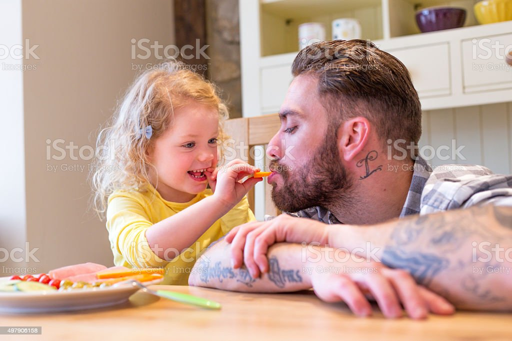 Eat it All Up stock photo