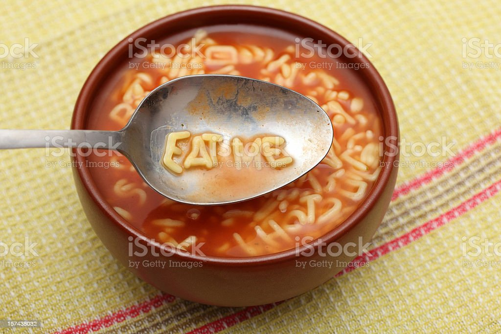Eat Me stock photo