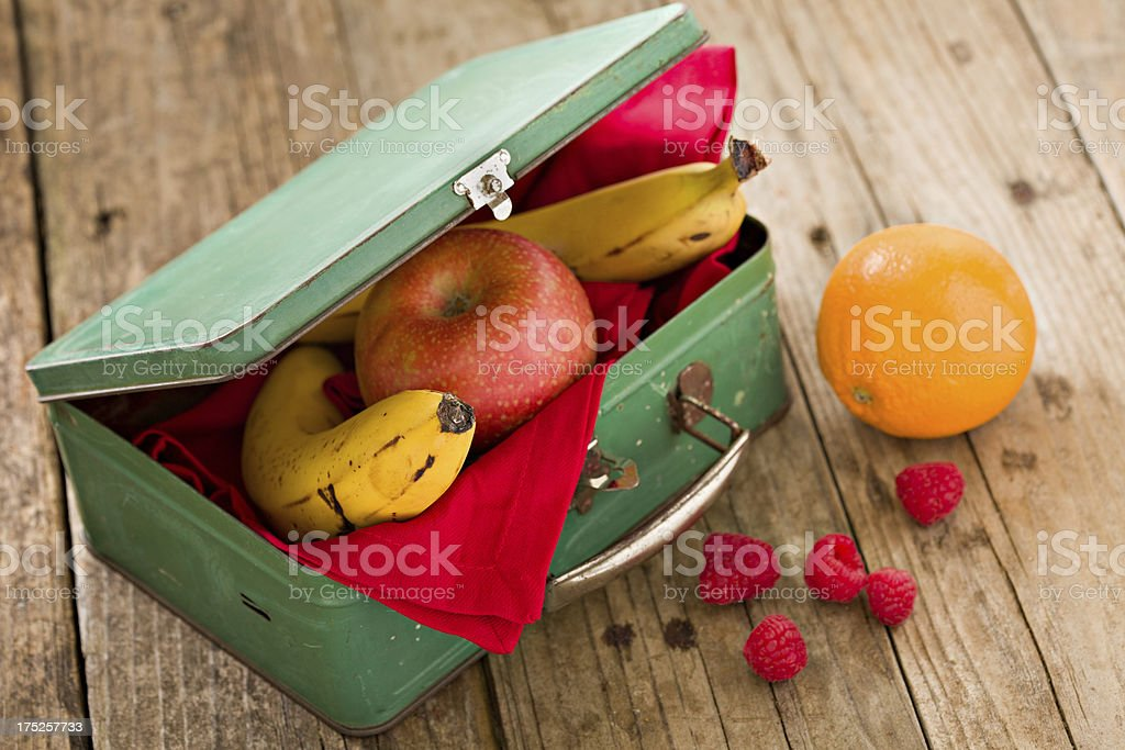 Eat More Fruit For Lunch stock photo