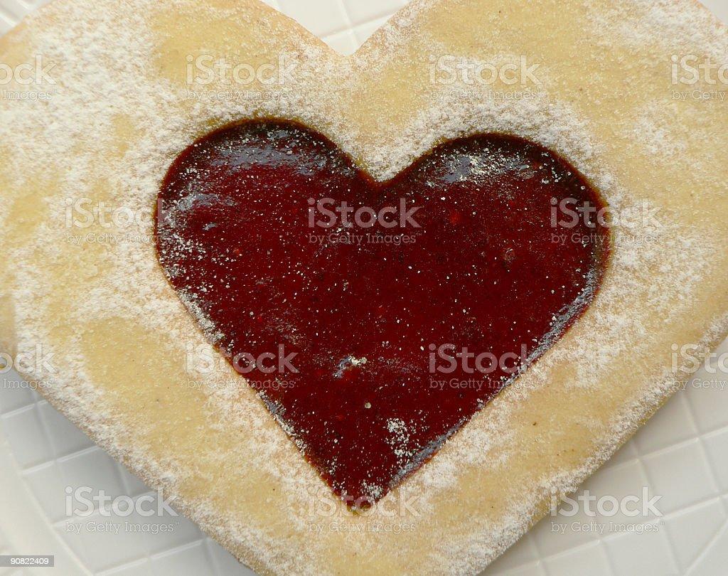 eat my heart royalty-free stock photo