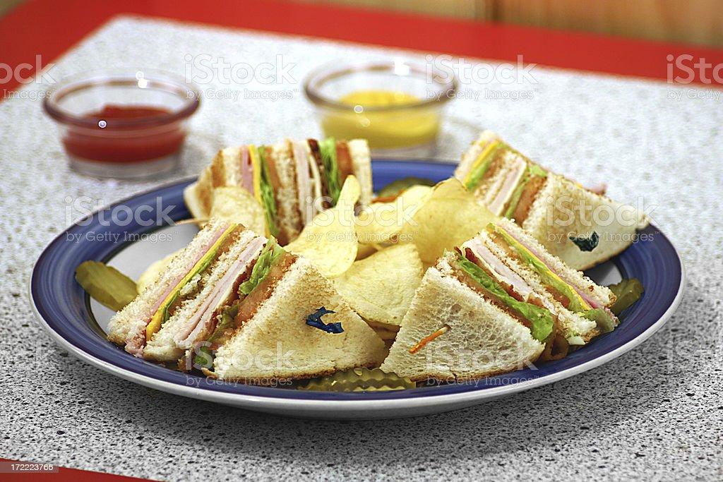 eat  sandwich stock photo