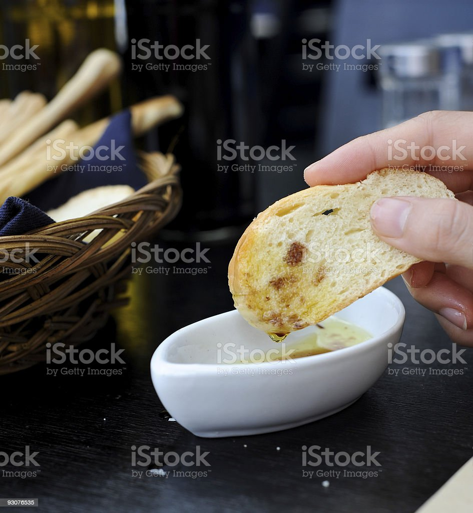 eat with your hands royalty-free stock photo