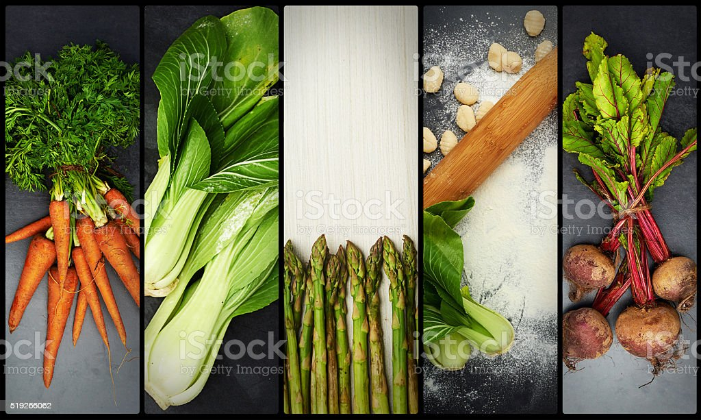 Eat your greens! stock photo
